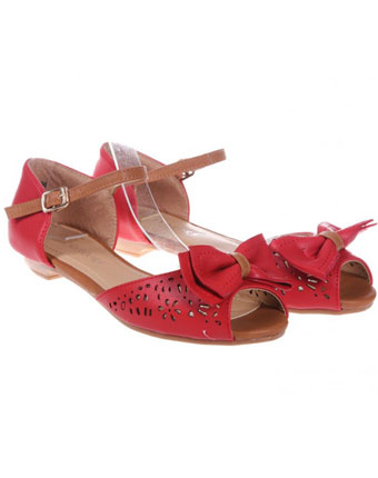 Sandale rosii Nancy