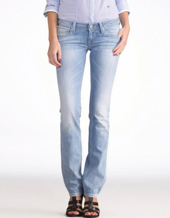 Jeans slim stretch modelator