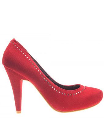 Pantofi dama Red Velvet