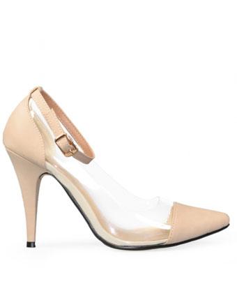 Pantofi Tulip beige
