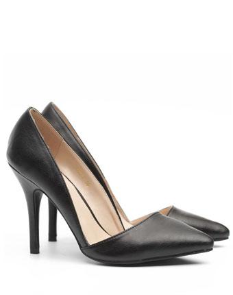 Pantofi Nissa negri