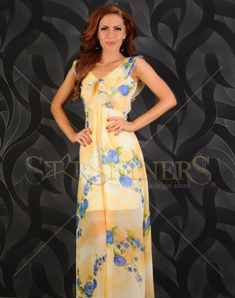 Rochie BB Lovely Summer Yellow