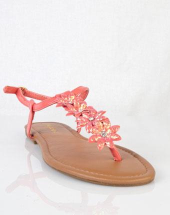 Sandale Omar coral