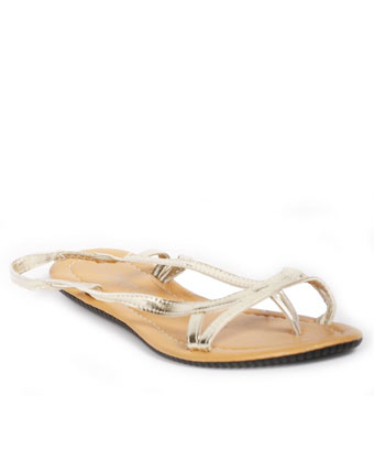 Sandale Jetset aurii
