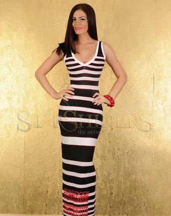 Rochie MissQ Navy Sea Black
