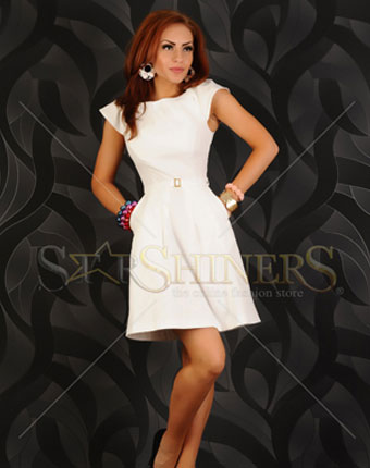 Rochie Style Expresion White