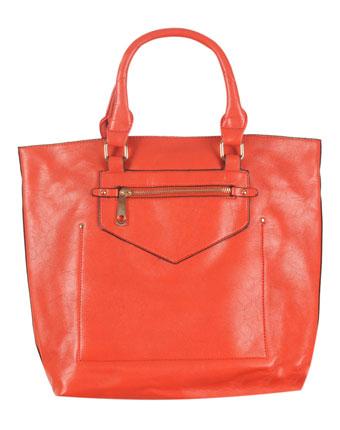 Geanta orange model elegant