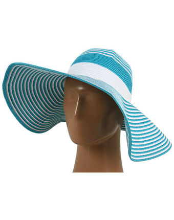 Palarie Echo Design Spectator Stripe turquoise