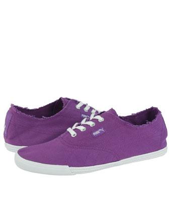 Tenisi Puma violet cu alb