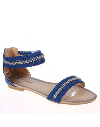 Sandale dark blue Paris