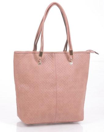 Geanta roz texturata Cybil