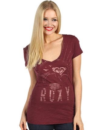 Tricou Roxy Bright Sun V-Neck