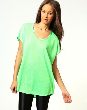 Tricou verde Basic