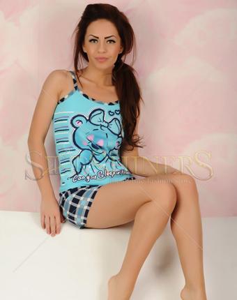 Pijama Sleep Together Blue
