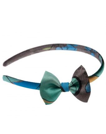 Bentita Tie Me Up cu fundita Azzurro di Capri