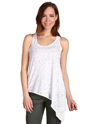Tricou asimetric alb Pure&Simple
