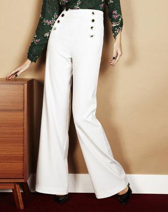 Pantaloni largi cu platca pentru femei