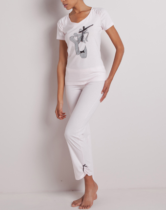 Pijama cu maneca scurta pentru femei