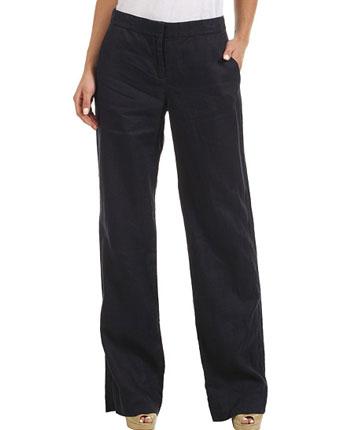 Pantaloni largi DKNY