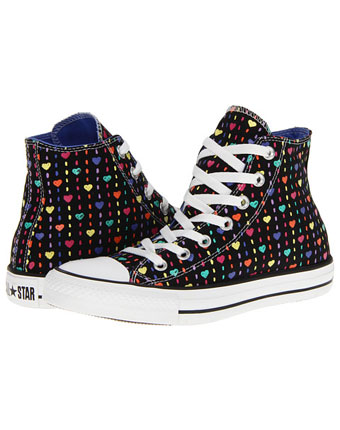 Tenisi Converse Chuck Taylor All Star Printed Canvas Hi inimioare