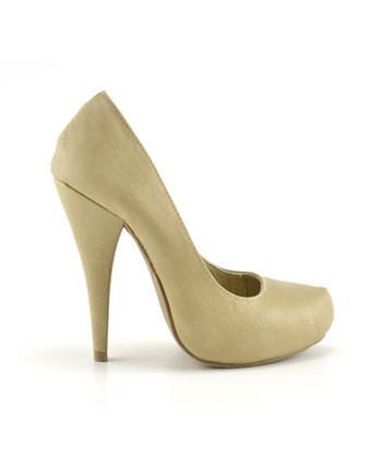 Pantofi nude Nako