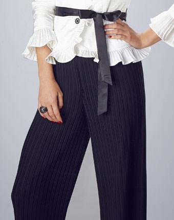 Pantaloni largi Votre Mode