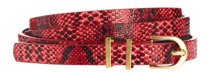 ASOS Printed Snake Super Skinny Metal Keeper Waist Belt