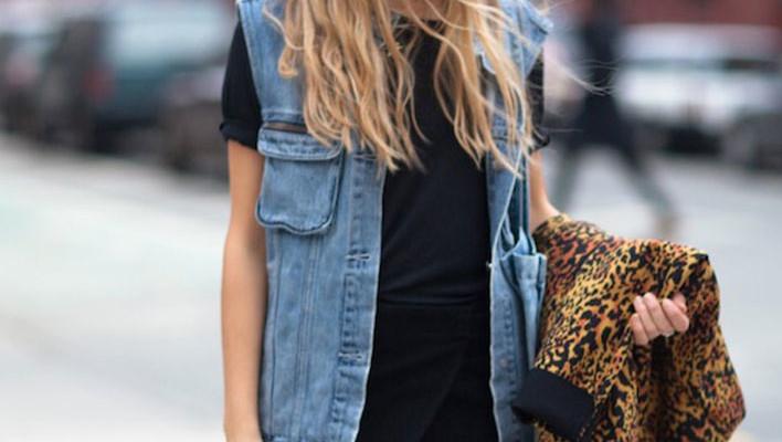 Veste de blugi la moda in vara 2013