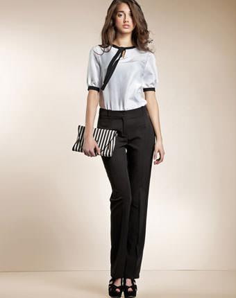 Pantaloni Classic negri