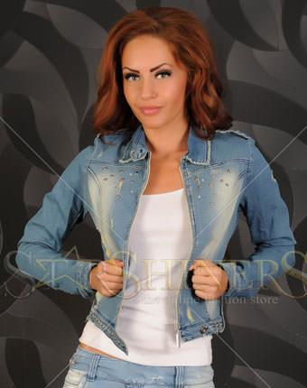 Jachete de blugi online Mexton First Love Blue