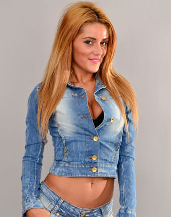 Jachete de blugi online Escape Elissa Blue
