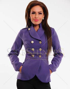 Pardesie scurte de toamna LaDonna Finest Line Purple