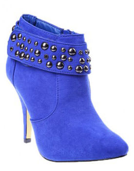 Botine Diana albastre