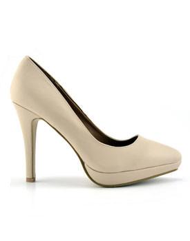 Pantofi Nora bej