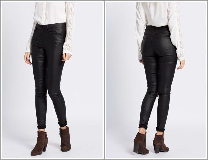 Pantaloni piele Vila
