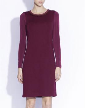 Rochie din jerse cu lana Nissa