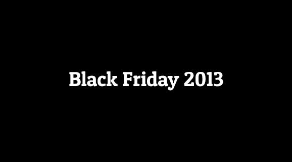 Cand cade Black Friday 2013