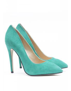 Pantofi verzi stiletto Nissa