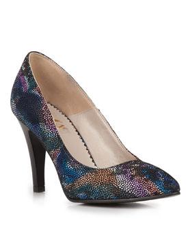 Pantofi multicolori stiletto