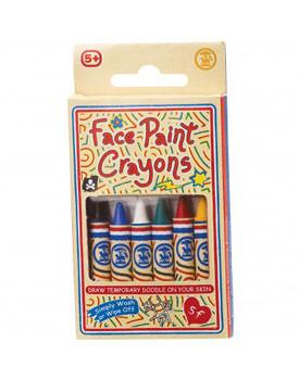 Cadouri de Mos Nicolae pentru copii Set creioane picturi pe fata