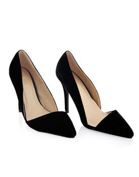 Pantofi cu toc inalt pentru Revelion Szpilki negri