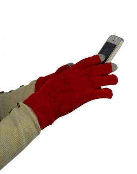 Manusi rosii smart pentru Iphone