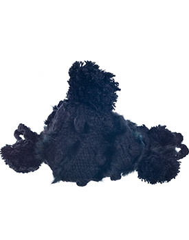 Caciula cu blanita neagra