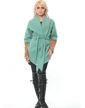 Cardigan verde Nicole Enea