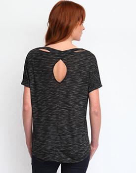 Bluza cu decupaj pe spate