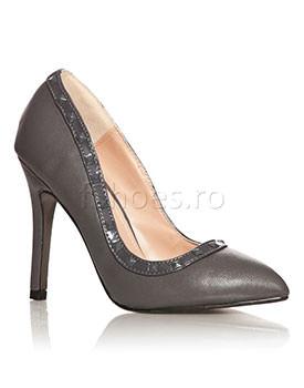 Pantofi Folie gri