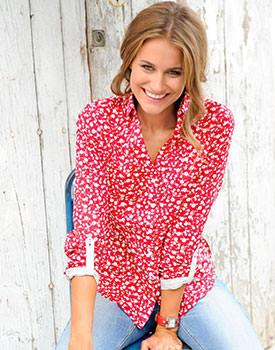 camasi inflorate pentru femei Camasa Bonprix Collection