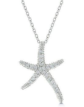 Coliere superbe cadou pentru Sfantul Valentin Colier argint stea de mare