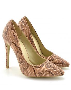 Colectii noi de pantofi pentru primavara 2014 Pantofi Daimond maro