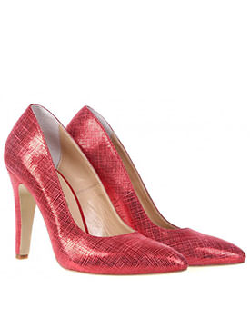 Colectii noi de pantofi pentru primavara 2014 Pantofi Classic rosii